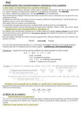 Modélisation des transformations chimique.doc