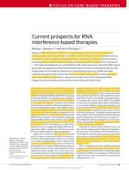 RNA interference based therapies.pdf