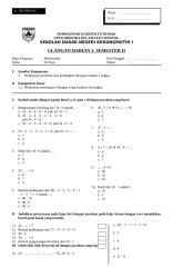 UH2 Matematika Kelas II.doc