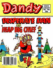 Dandy Comic Library 182 - Desperate Dan in Heap Big Chief (TGMG).cbz