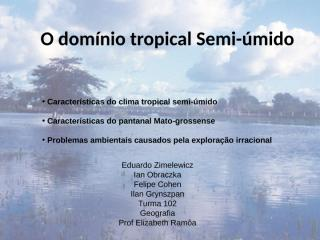 caractersticas do clima semi-mido.ppt