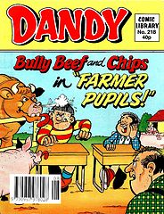 Dandy Comic Library 218 - Bully Beef and Chips in Farmer Pupils (TGMG).cbz