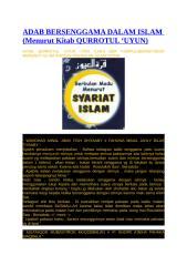 ADAB BERSENGGAMA DALAM ISLAM.docx