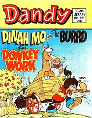 Dandy Comic Library 154 - Dinah Mo and The Burrd in Donkey Work (TGMG).cbz