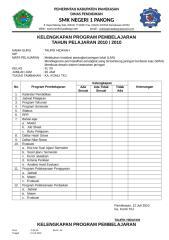 CHEKLIST KELENGKAPAN PEMBELAJARAN.doc
