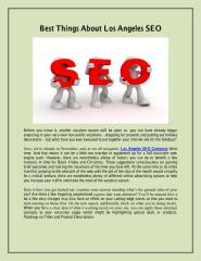 Best Things About Los Angeles SEO.pdf