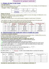 géométrie de quelques molécules.doc