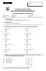 UH3 Matematika Kelas II.doc