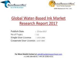 Global Water-Based Ink Market Research Report 2017.pdf